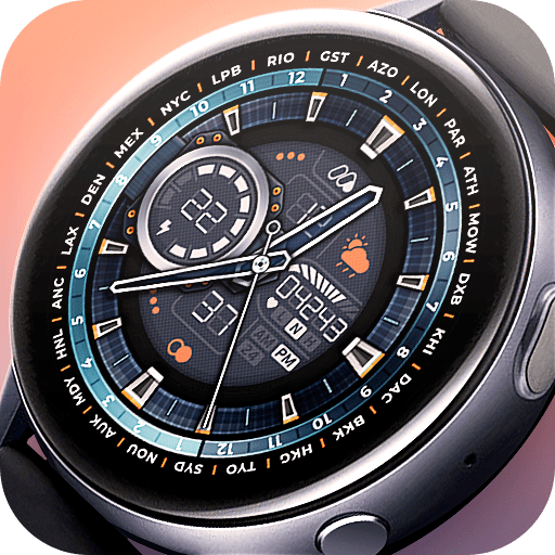 Matveyan – Super realistic analog watch face.