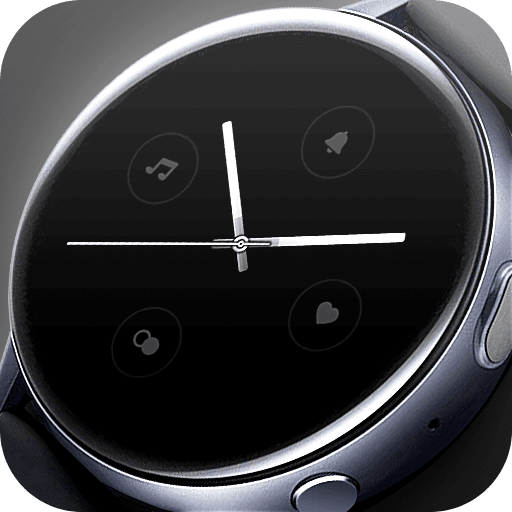 Matveyan – Only time watch face. Minimalism, clean, analog.